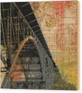 Strawberry Mansion Bridge Philadelphia Pa Wood Print