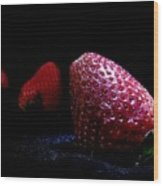Strawberry Trail Wood Print