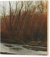 Stream Wood Print