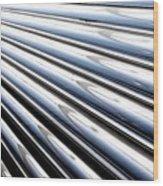 Streamlines Wood Print