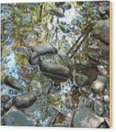 Stream's Edge Wood Print