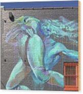 Street Art In Charleston Wood Print