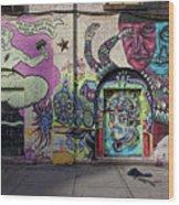 Street Art Wiiliamsburg Brooklyn Wood Print