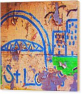 Street Canvas Wood Print