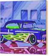 Street Cruiser - American Way Of Drive 2 Wood Print