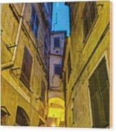 Street In Vernazza Wood Print