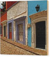 Street Of Color Guanajuato 1 Wood Print