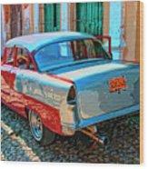 Street Racer Wood Print