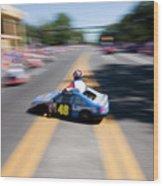 Street Racing Wood Print