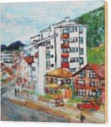 Street Scene Srebrenica 201806 Wood Print