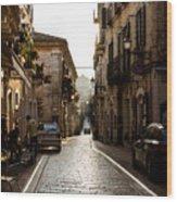 Streets Of Italy - Citta Sant Angelo 2 Wood Print