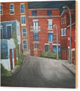 Streets Of Montreal  Joly Wood Print