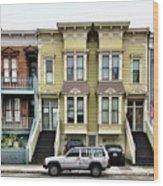 Streets Of San Francisco Wood Print