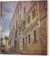 Streets Of Vienna Austria  Wood Print