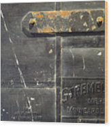 Stremel Bros. Firedoor Wood Print
