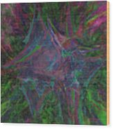 Stretched Colors Wood Print