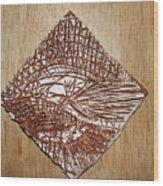 Strike - Tile Wood Print