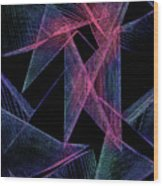 String Theory Wood Print