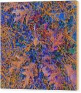 Strings 01 Wood Print