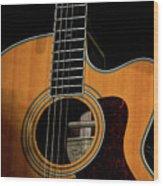 Strings Of My Heart... Wood Print