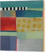 Stripe Assemblage 2 Wood Print