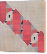 Stripe Wood Print