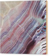 Striped Quartz Wood Print