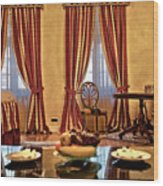 Striped Room Wood Print