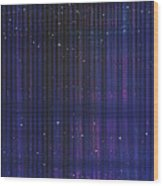 Stripes 865 Wood Print