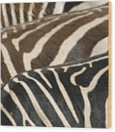 Stripes Wood Print