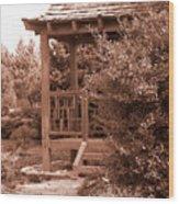 Stroll Garden 2 Wood Print