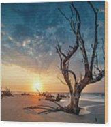 Strong Tree Wood Print