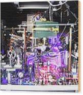 Strontium Atomic Clock Wood Print