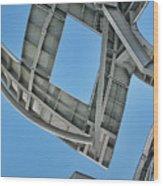 Structure - Center For Brain Health - Las Vegas - Color Wood Print
