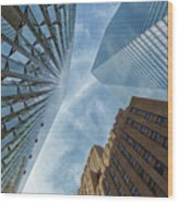 Structures Of Nyc 6  Wood Print