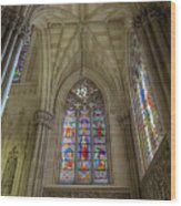 Structures Of St. Patrick Cathedral 3 Wood Print