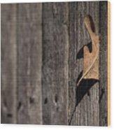 Stuck Wood Print