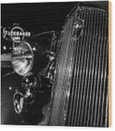 Studebaker Chrome Wood Print