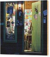 Studio Door Wood Print