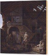 Studio Of An Antiquities Wood Print