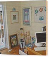 Studio Still Wood Print