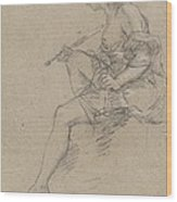 Study For An Allegory Of Painting Wood Print