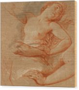 Study For Boreas Abducting Oreithyia Wood Print
