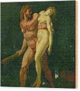 Study For Hercules And Alcestis Wood Print