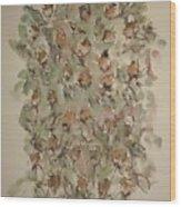 Study Of Flowers Q Wood Print