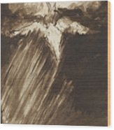 Study Of Jacob's Dream Wood Print