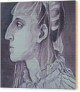 Study Of Laura Battiferri After Agnolo Bronzino C.1555 Wood Print
