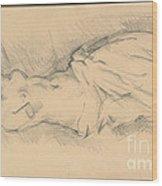 "Study Of ""venus De Milo"" Wood Print"