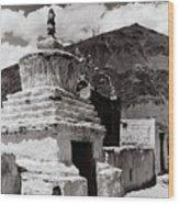 Stupa Wood Print