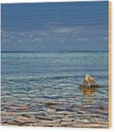 Sturgeon Bay Lake Michigan Wood Print